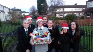 Compass Support Young Leaders Christmas Hampers
