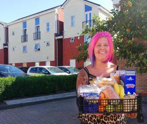 Erdington breakfast club Parcels Becki