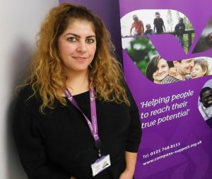 Shamsa Mughal - Support Services Team Leader Compass Support Pioneer Group