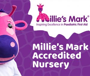 TiggyWinkles Nursery Millie's Mark
